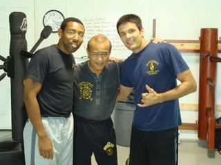 Isaiah Pittman, Guro Dan Inosanto, and Jack in Evansville Indiana on April 27th, 2008.