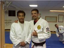 Raymond Ventura new Blue Belt