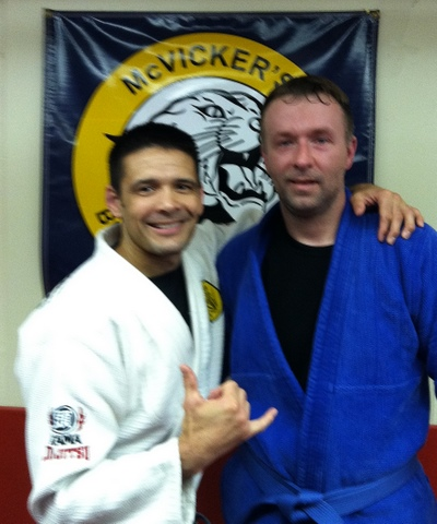 Bill Sampson was promoted to blue belt