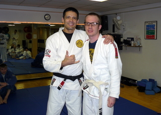 Congratulations to Scott Redenbaugh on his promotion to blue belt