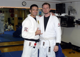 Congratulations to Eric Teague on his promotion to blue belt
