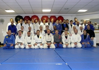 Group Picture: 2011 Spring BJJ Camp, Champaign, IL., Sunday